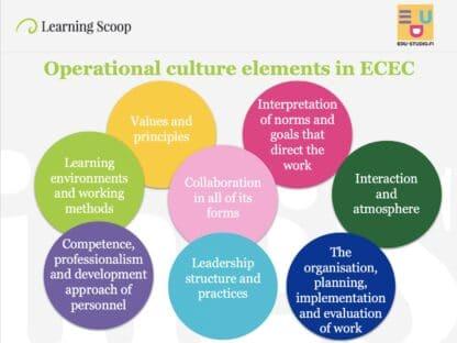 Kindergarten as a learning organization online course