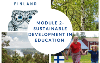 Sustainable development in education online course for teachers