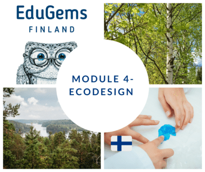 Ecodesign STEAM online course for teachers