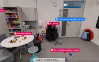 Visit a Finnish school online course