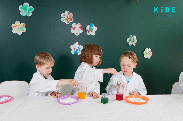 Children don't do science, they become scientists.